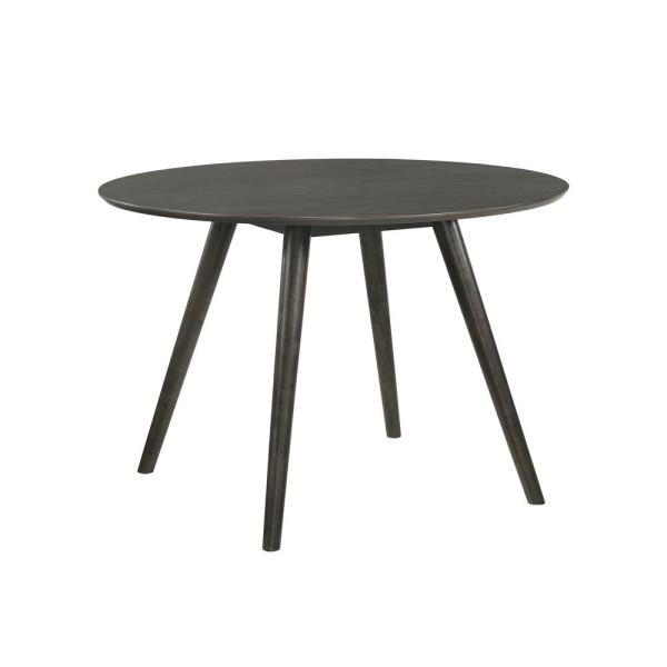 Hiromi Gray Round Dining Table