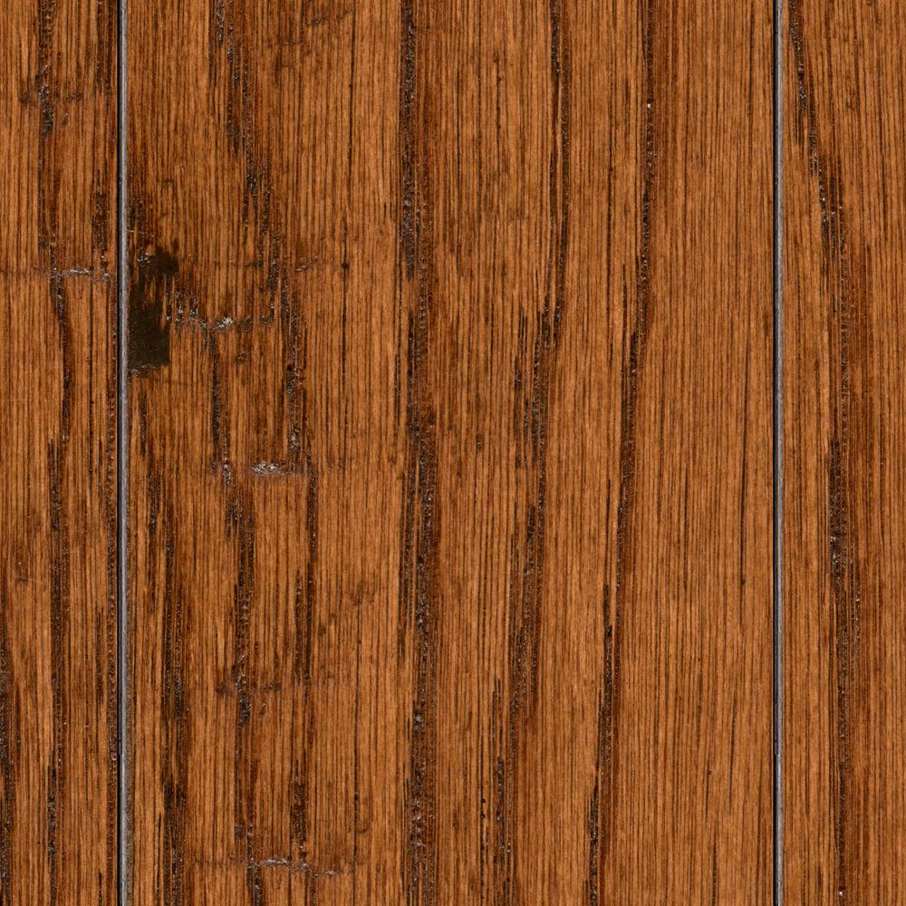 Home Legend HS Distressed Arleta Oak 3/8 in. T x 3-1/2 in. and 6-1/2 in. W x Varying Length Engineered Hardwood (26.25 sq.ft./case)