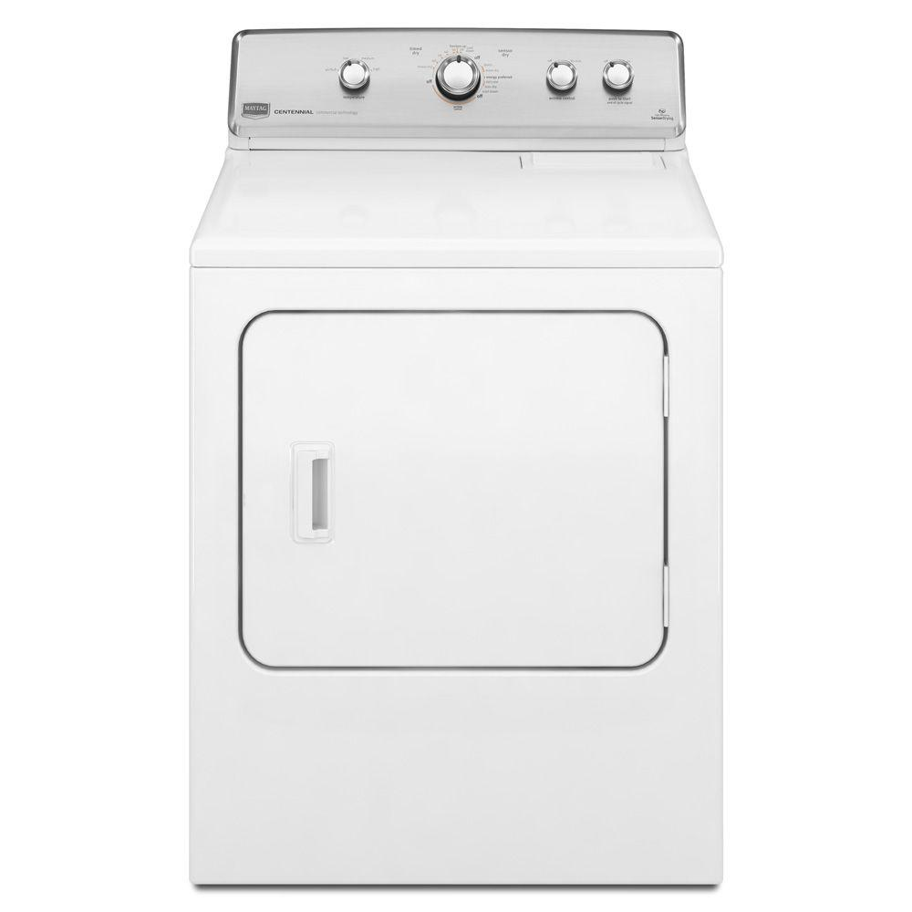 Maytag Centennial 7.0 cu. ft. Gas Dryer in White