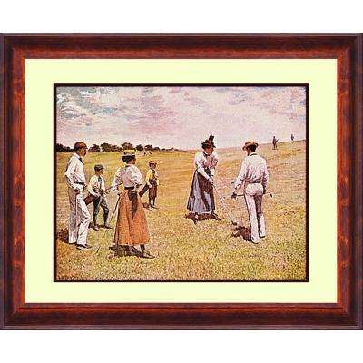 16.in x 13.in''Ladies at Morris County'' By PTM Images Framed Printed Wall Art