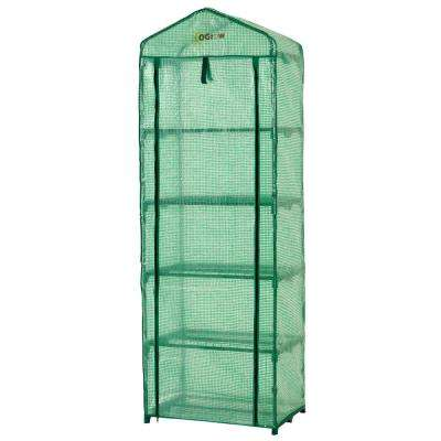 19 in. W x 27 in. D Ultra-Deluxe 5-Tier Portable Gardenhouse