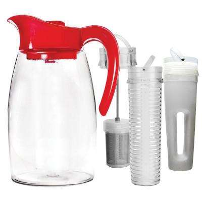2.9 Qt. Cherry Beverage System Pitcher