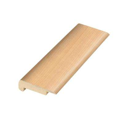Northern Blonde Maple .75 in. Thick x 2.36 in. Wide x 78.7 in. Length Laminate Stairnose Molding