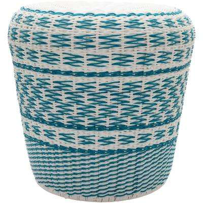 Tuscarawas Stool in Sky Blue