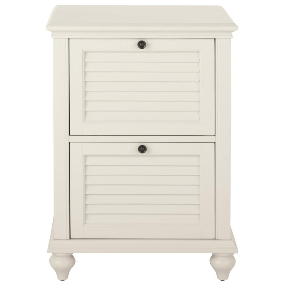 Home Decorators Collection Hamilton 2 Drawer Polar White