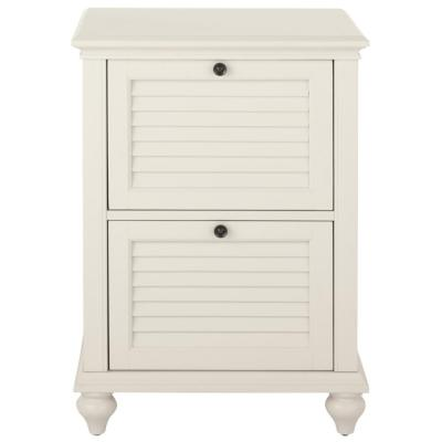 Hamilton 2-Drawer Polar White File Cabinet