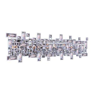 Arley 8-Light Chrome Sconce