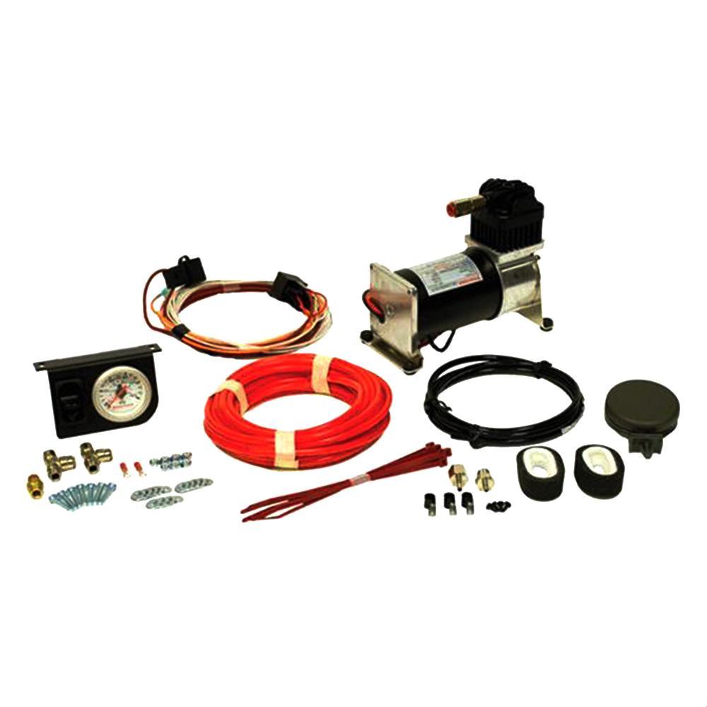 Air-Rite Air Command I Heavy Duty Air Compressor System w/Single Analog Gauge (WR17602097)