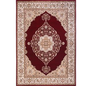 Home Dynamix Bazaar Emy Red/Ivory 7 ft. 10 inch x 10 ft. 1 inch Area Rug by Home Dynamix