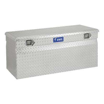 47.875 Silver Aluminum Full Size Chest Truck Tool Box