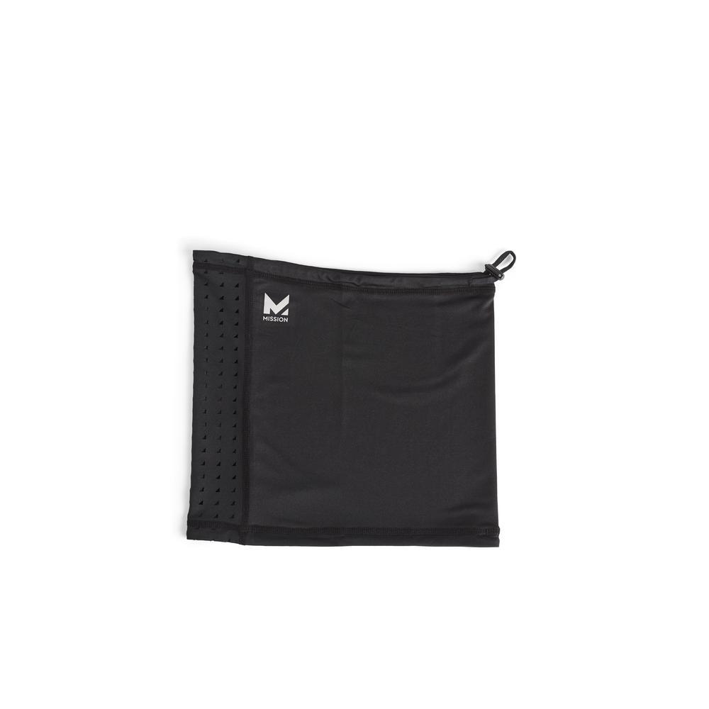 Black All-Season Adjustable Neck Gaiter (4-Pack)