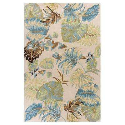 Paradise Home Ivory 8 ft. x 10 ft. 6 in. Area Rug