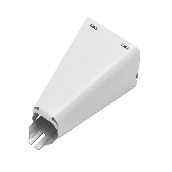 Wiremold 700 Series Metal Surface Raceway Combination Connector, White