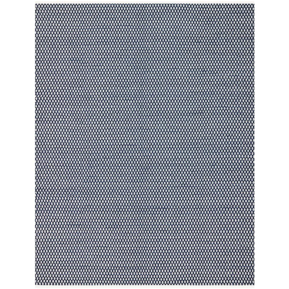 Safavieh Boston Navy 8 Ft X 10 Ft Area Rug Bos685d 8 The Home Depot