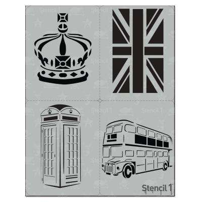 London Stencil (4-Pack)