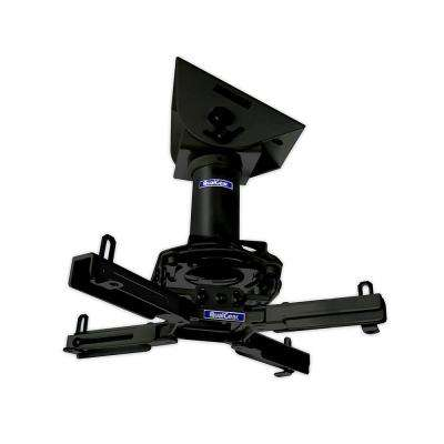 Pro-AV Projector Mount Kit with a Vaulted Ceiling Adapter, 3 in. 1.5 in., Black