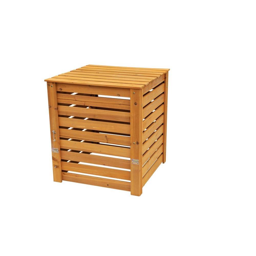 27 in. x 27 in. x 30 in. 8.5 gal. Cedar Compost Bin