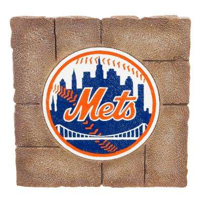 New York Mets 12 in. x 12 in. Decorative Garden Stepping Stone