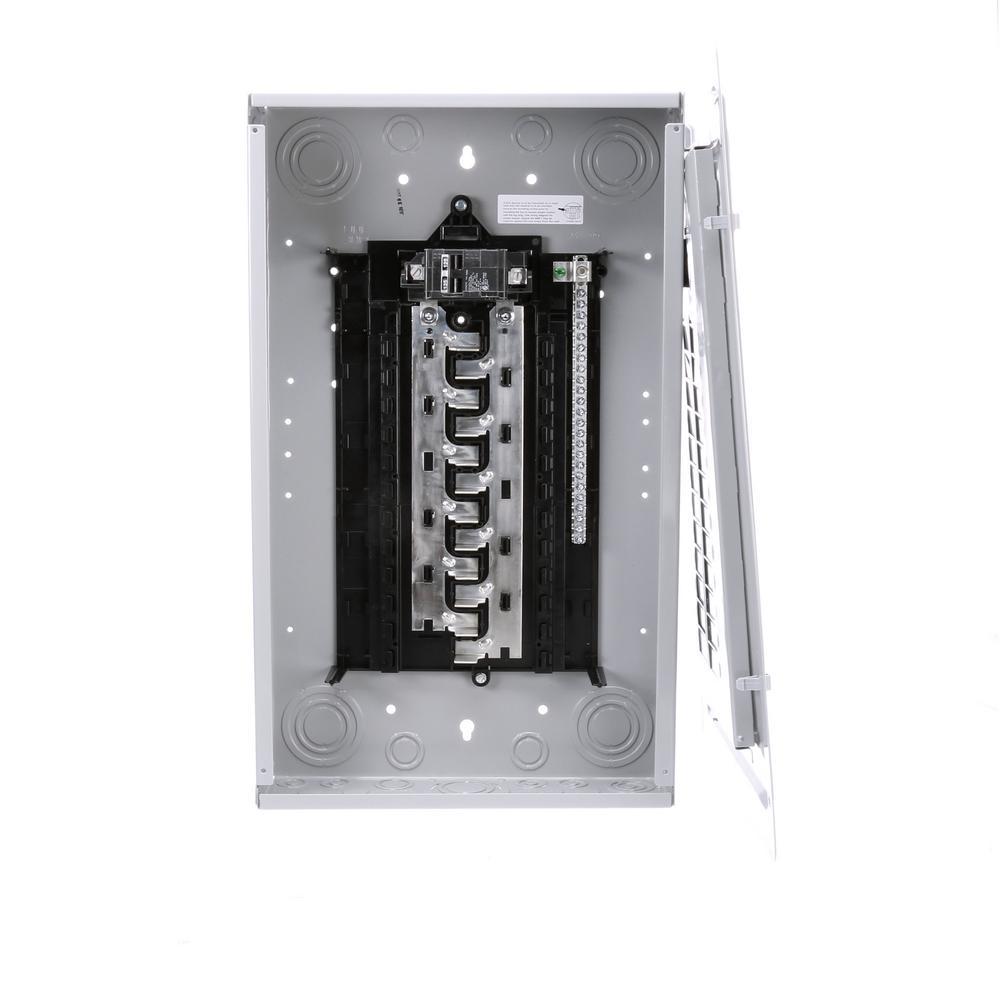 Installed Ceiling Fan Trips Breaker Ceiling Fan Wiring: Siemens ES Series 125 Amp 24-Space 24-Circuit Main Breaker