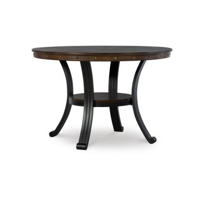 Brown Wood Franklin Dining Table