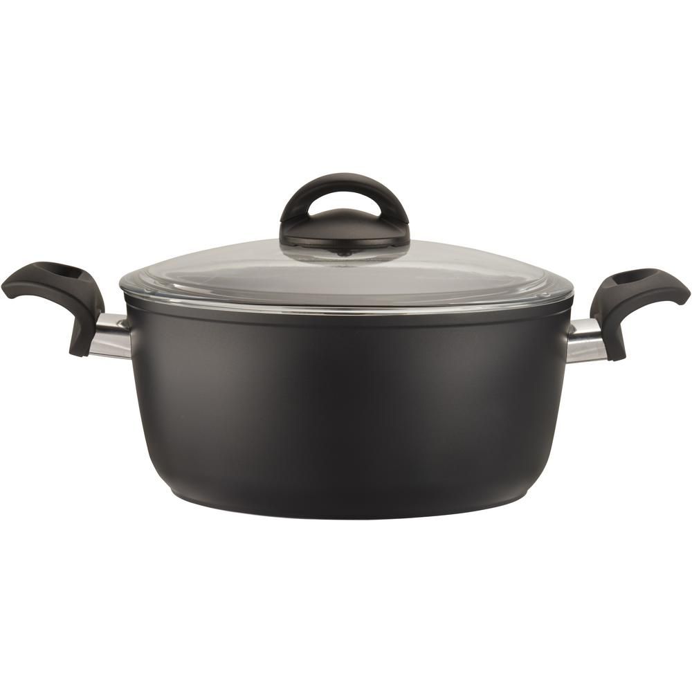 Como Forged Aluminum 4.8 Qt. Non-stick Dutch Oven with Lid