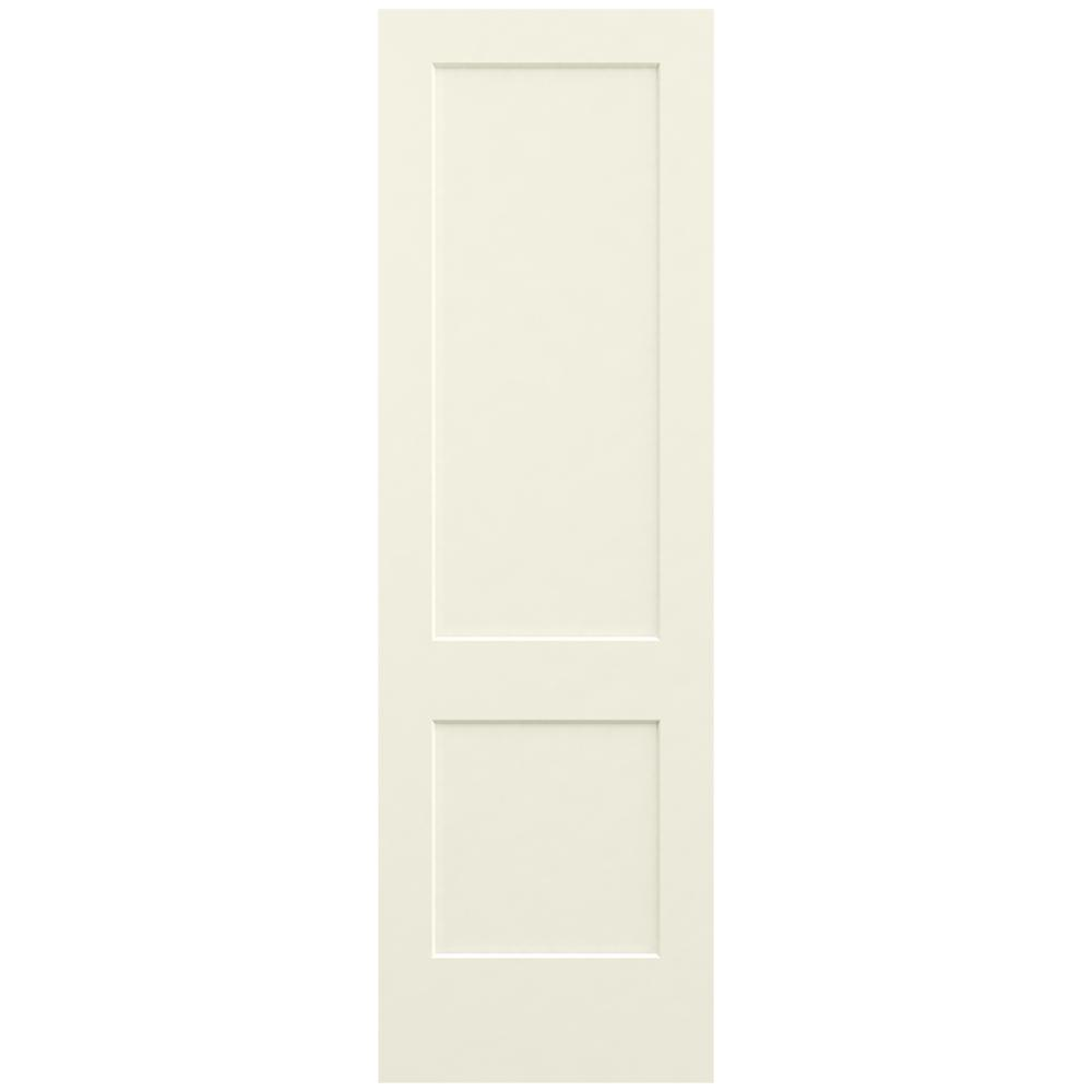 Jeld Wen 30 In X 96 In Monroe Vanilla Painted Smooth Solid Core Molded Composite Mdf Interior