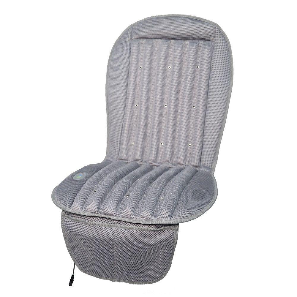 19 in. Cool Air Car Cushion in Gray