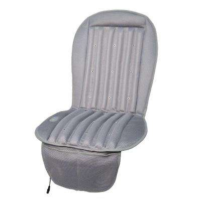 19 in. Cool Air Car Cushion in Gray