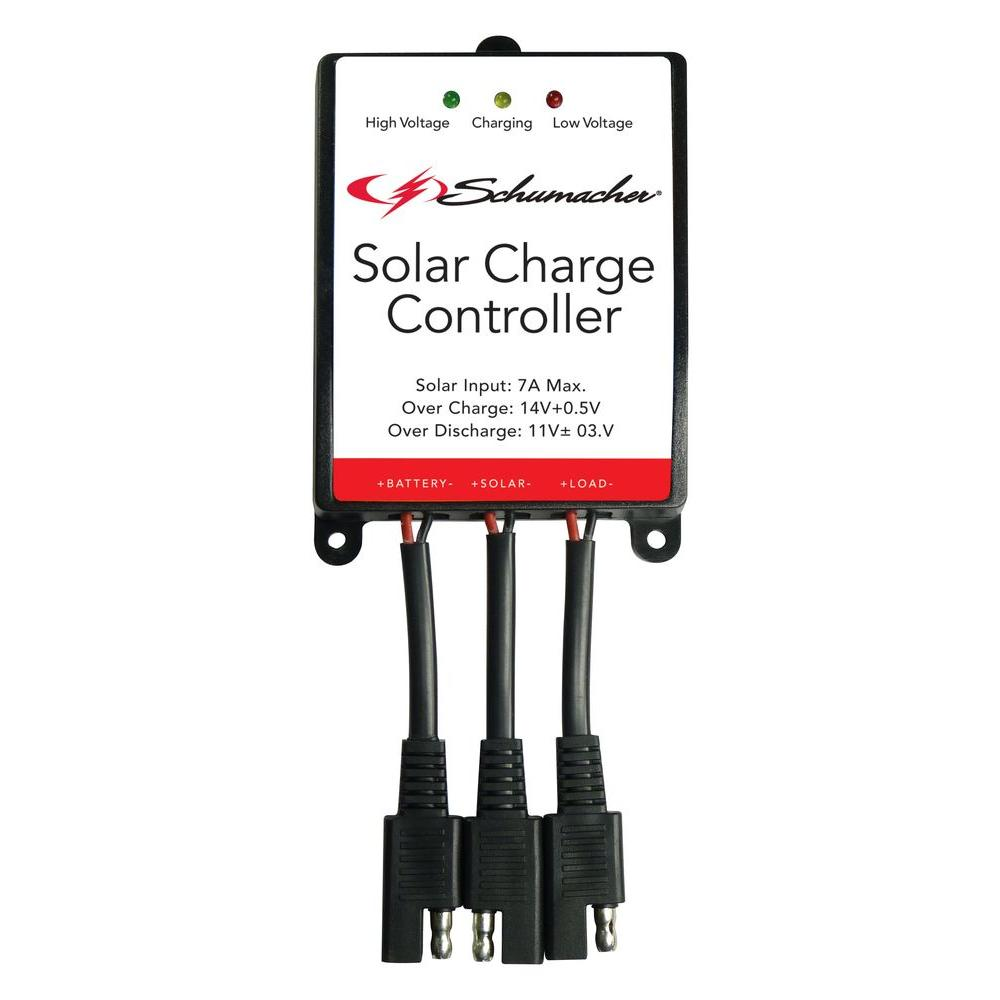 Charger Controller Wiring Also Solar Charge Schematic Battery Schumacher 12 Volt Spc 7a The Home Depot Rh Homedepot Com