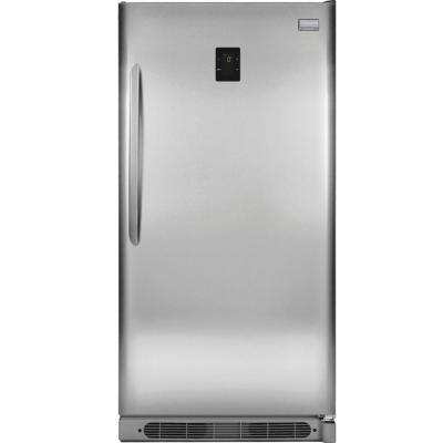 20.5 cu. ft. Frost Free Upright Freezer Convertible to Refrigerator in Stainless Steel, ENERGY STAR
