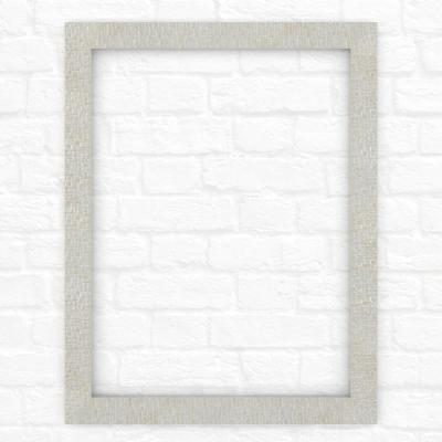 23 in. x 33 in. (S2) Rectangular Mirror Frame in Stone Mosaic
