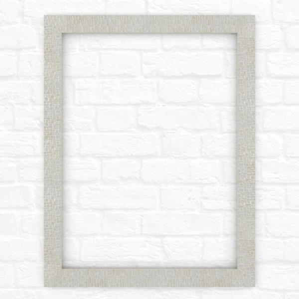 23 in. x 33 in. (S2) Rectangular Mirror Frame in Stone Mosaic