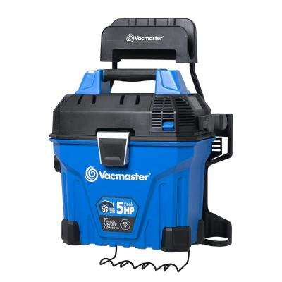 5 Gal. Wall Mount Wet/Dry Vacuum with 2-Stage Motor