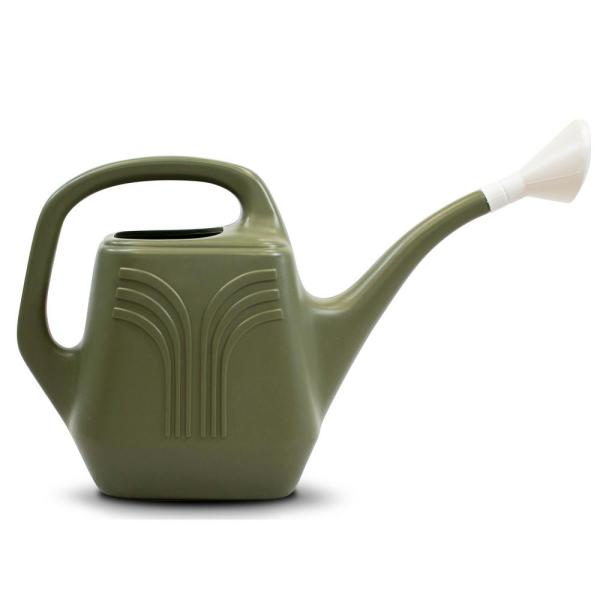 2 Gallon Living Green Plastic Watering Can