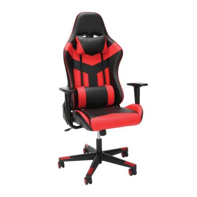 Essentials Collection High Back PU Leather Gaming Chair, in Red (ESS-6075-RED)