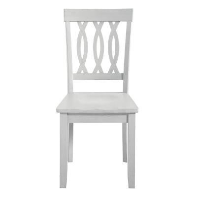 Naples White Side Chair