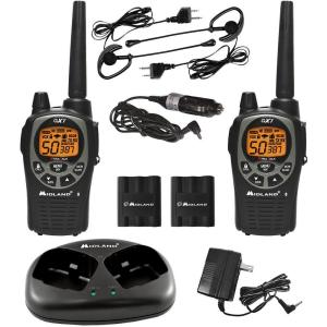 Midland X-TRA TALK GMRS 2-Way 36-Mile 50 Channel Radios (2-Pack) by Midland