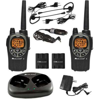 X-TRA TALK GMRS 2-Way 36-Mile 50 Channel Radios (2-Pack)