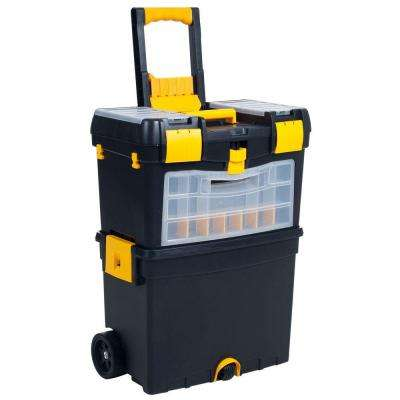 24.5 in. Deluxe Mobile Workshop and Tool Box