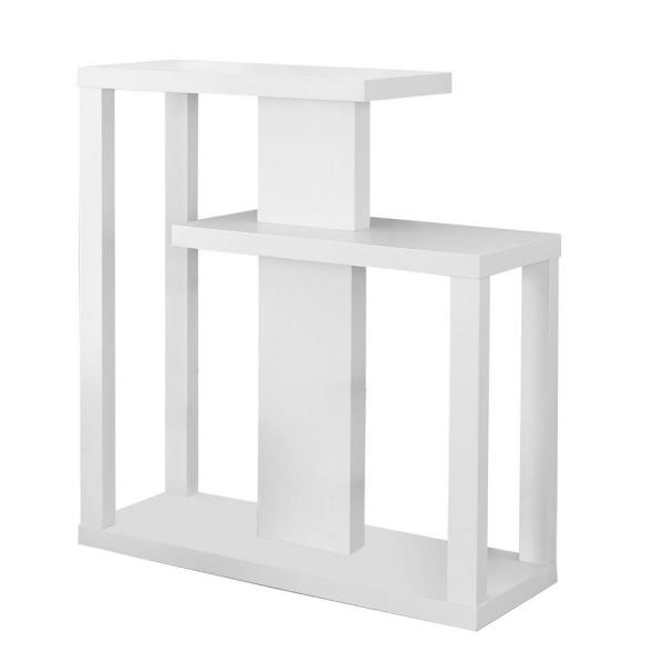 Jasmine 34 in. White Hall Console Accent Table