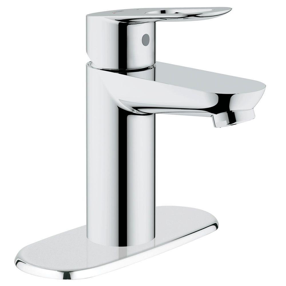 GROHE BauLoop Basin Mixer 4 in. Centerset Single Handle OHM Bathroom ...