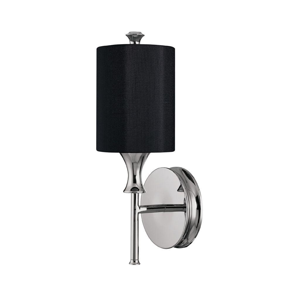 Filament Design 2-Light 14 in. Sconce Polished Nickel Finish-DISCONTINUED