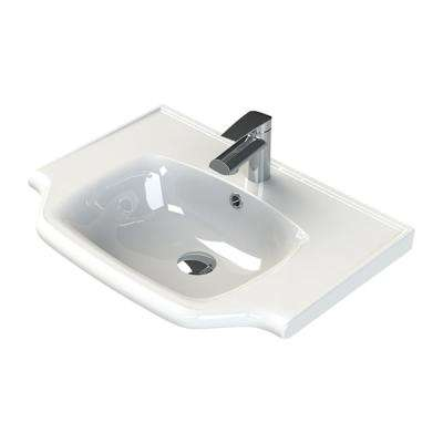 Yeni Klasik Wall Mounted Bathroom Sink in White