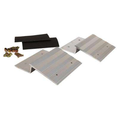 8 in. Aluminum Ramp Plate Kit (Box of 2)