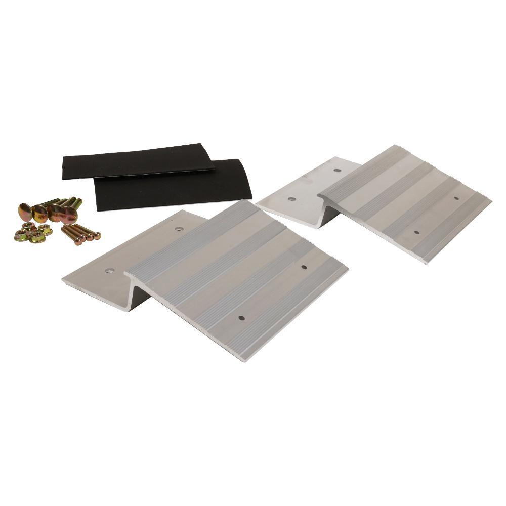 8 in. Aluminum Ramp Plate Kit (Box of 2)