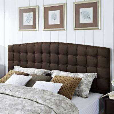 Torino Brown King Headboard