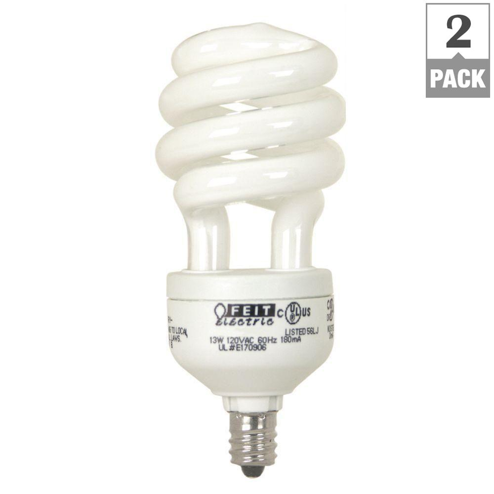 Philips 9 watt soft white 2700k cflni pl s 2 pin g23 cfl light bulb 230326 the home depot Light bulb wattage