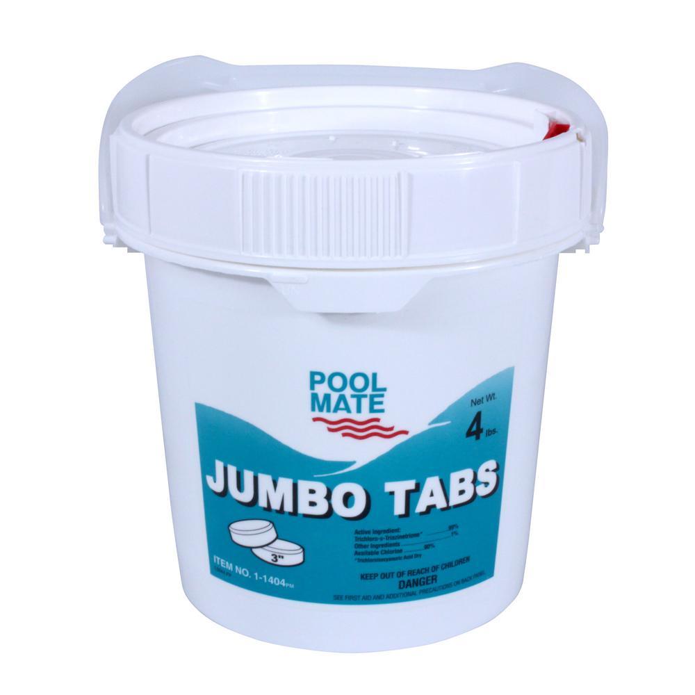 4 lb. Pool 3 in. Chlorine Jumbo Tabs