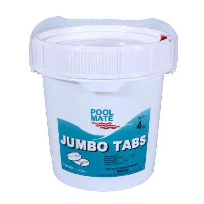 4 lb. Pool 3 in. Chlorine Jumbo Tabs