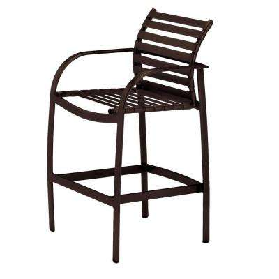 Scandia Java Commercial Strap Patio Bar Stool